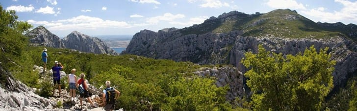 Come see the Paklenica canyons and hike on its numerous trails